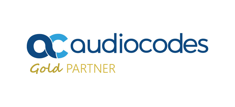 AudioCodes Gold Partner logo