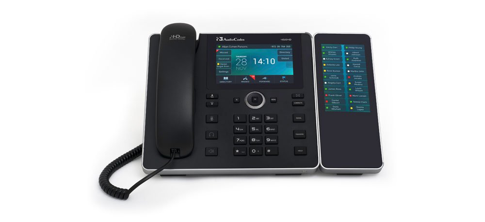 450HD IP Phone with Sidecar logo