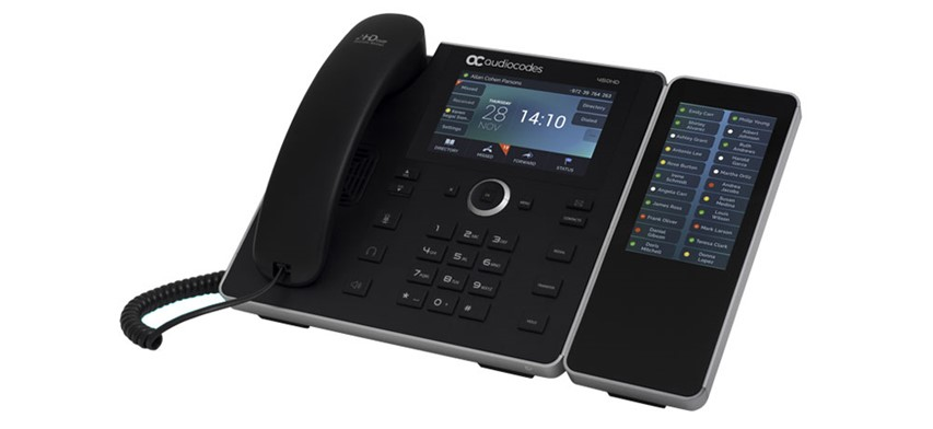 450HD IP Phone with Sidecar [Left]