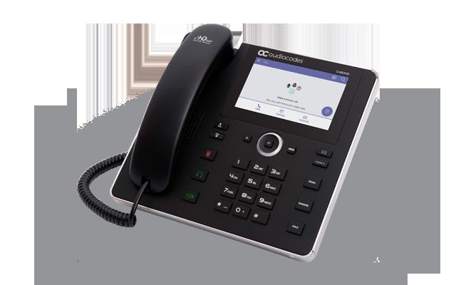 C450HD IP Phone | Business IP Phone | Native Microsoft Teams and
