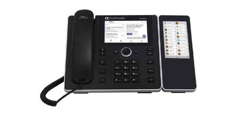 C450HD IP Phone with Sidecar