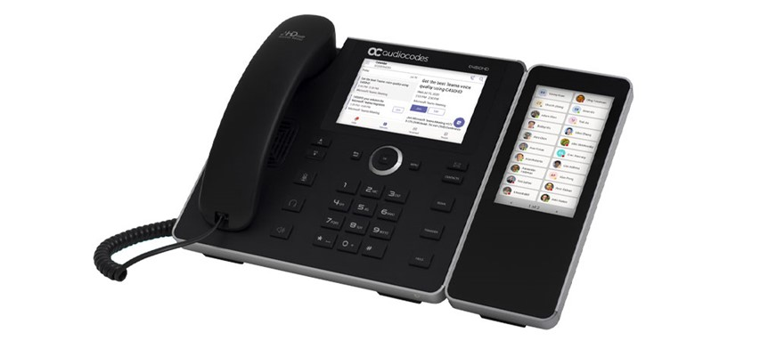 C450HD IP Phone with Sidecar [Left]